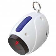 TRIXIE Automatic Laser Pointer Cat Toy 11 cm White 41311