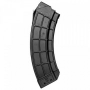 Us Palm Ak Magazines W/ Stainless Steel Latch Cage - Ak 30-Round Magazine W/Ss Latch Cage Black