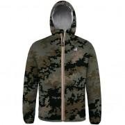 K-Way Vestes Polaires hiver homme Capuche Regularfit Le Vrai Claude 3.0 Orsetto Camouflage