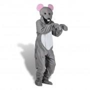 vidaXL Costum de carnaval șoarece mărimea XL-XXL