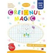 Creionul Magic Caiet De Activitati Grupa Mare 5-6 Ani - Nina Beldie