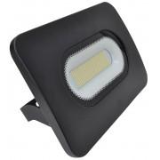 Tracon RSMDL100 LED-es, SMD fényvető, 100 W teljesítménnyel, fekete színben, 4000K színhőmérséklettel, IP65-ös védelemmel, 7500 lm fényerővel
