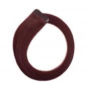 Rapunzel® Extensions Naturali Quick & Easy Original Liscio 6.12 Dark Mahogany Brown 50 cm