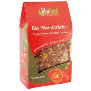 Crackers cu chilli si rosii raw bio 90g