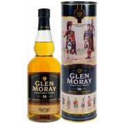 Glen Moray 16 years whisky fém dd. 0,7L 40%