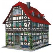 Puzzle 3D casa medievala, 216 piese Ravensburger