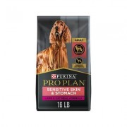 Purina Pro Plan Focus Adult Sensitive Skin & Stomach Lamb & Oatmeal Formula Dry Dog Food, 16-lb bag