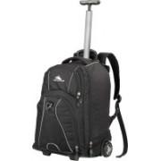 High Sierra Freewheeler Trolley Backpack(Black)