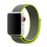 Apple Sport loop Apple watch bandje 42mm / 44mm - Groen