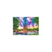 Puzzle Trefl - Crazy Shapes - Sky over Paris 600 piese