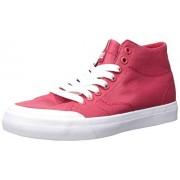DC Evan Hi Zero TX Se Zapatillas de Skate para Mujer, Rojo, 8 US