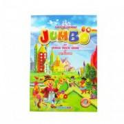 Carte de colorat cu animale fructe legume si abtibilduri A4 80 pagini Eurobookids vol. 5