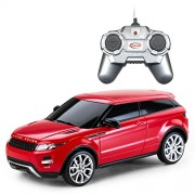 Rastar 1:24 Remote Control Range Rover Evoque, Multi Color