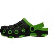 MANTHAN SP-01 GREEN RUBBER CROCS FOR MEN