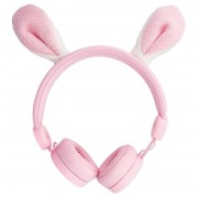 Forever Sweet Animal AMH-100 Stereo Headphones - Bunny