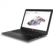 HP ZBook 15u G4 arbetsstation - Intel i7 / 16GB / 256 GB / AMD FirePro™ W4190M (2GB)