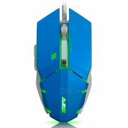 ajazz GTC 7-button A3050 chipset gaming mouse 500/1000/1500/2000/3000/4000 DPI - azul