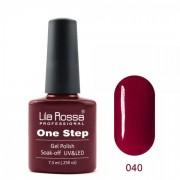 Oja semipermanenta OneStep Lila Rossa Professional 7.3ml OLROS040