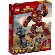Конструктор Лего Супер Хироус - Разбиване с Hulkbuster, LEGO Marvel Super Heroes, 76104