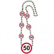 Ketting 50 jaar verkeersbord