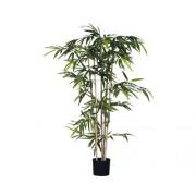 Planta artificiala, bambus, inaltime 150 cm, verde