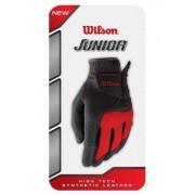 Wilson Juniorhandske-Svart/Red-Large-Vänster