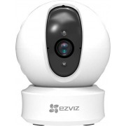 ezviz 303100595 Telecamera Videosorveglianza Wifi Full Hd Rotante Motorizzata Funzione Motiontracking Visione A 340° Audio Bidirezionale - 303100595 C6c 1080p C6c Plus