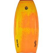 Wave Skater Ghost Shark Bodyboard (Orange/Gul)