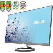 "Monitor IPS LED Asus 27"" MX27AQ, WQHD (2560 x 1440), HDMI, DisplayPort, 5 ms GTG, Boxe B&O ICEpower, Flicker free, Low Blue Light, TUV certified (Negru)"