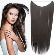 Flip in vlasy - 55 cm dlouhý pás vlasů - odstín 6 - Světové Zboží