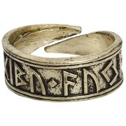 URBANTIMBER Nidhogg Ring-goldfarben Onesize Unisex