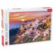 Puzzle Trefl apus Santorini 1000 piese