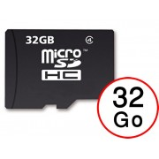 Lenovo K8 Note Carte Mémoire Micro-SD 32 Go + Adaptateur de qualité by PH26®