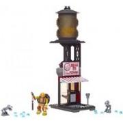Figurina Mega Bloks Teenage Mutant Ninja Turtles Mikey Pizzeria Showdown