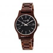 Earth Wood Tuckahoe Marble-Dial Bracelet Watch - Red ETHEW4803