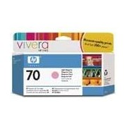 HP 70 Light Magenta Ink Cartridge, 130-ml (C9455A)