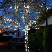 Led String Light White Outdoor 30M Length With 180 Led'S Christmas Decoration
