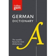 Collins German Dictionary Gem Edition, Paperback