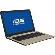 "Notebook VivoBook 15 X540MA-GO207 15.6"" HD N4000 4GB 500GB Endless OS Chocolate Black"