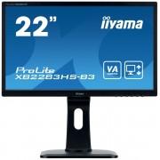 """IIYAMA 22"""" iiyama XB2283HS-B3 - VA,FullHD,4ms,250cd/m2, 3000:1,16:9,VGA,HDMI,"""