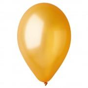 Baloane latex sidefate 33 cm, auriu 39, gemar gm120.39, set 100 buc