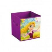 Cutie depozitare jucarii Rapunzel 31x31x31 Disney LEY1107LR B3406492