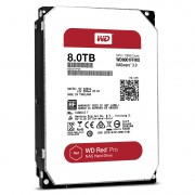 HDD 8TB SATAIII WD Red PRO 128MB for NAS (5 years warranty)