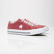 Converse One Star Ox In Red - Size 45