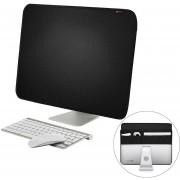 27 Pulgadas De Apple IMac Portatil Cubierta De Polvo De Escritorio Apple Computer Monitor LCD Portada Con Bolsa De Almacenamiento, Tamaño: 68x48.2cm (negro)