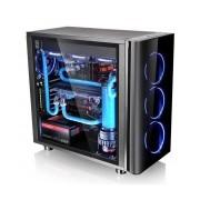 Gabinete Thermaltake View 31 TG con Ventana LED Azul, Midi-Tower, ATX/Micro-ATX/Mini-ITX, USB 2.0/3.0, sin Fuente, Negro