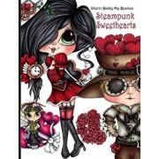 Sherri Baldy Steampunk Sweethearts My Besties Coloring Book, Paperback/Sherri Ann Baldy
