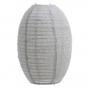 House Doctor Stitch Lampskärm Ljusgrå 50x60 cm