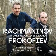 PENTATONE Prokofiev / Rachmaninov / Moser / Korobeinikov - Rachmaninov & Prokofiev : œuvres pour violoncelle Piano & [SACD] USA import