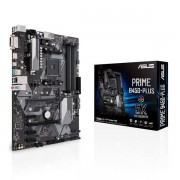 Asus Prime B450-PLUS, Amd B450, AM4, Atx, 4 DDR4, Xfire, Dvi, Hdmi, M.